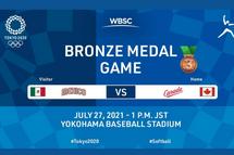 Il ne reste plus que deux parties de softball aux Jeux Olympiques de Tokyo