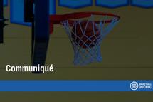 Suspension des activités de basketball en zone rouge
