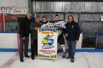 Jr B Bombardiers de St-Hubert - bannière finaliste