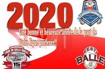 Votre ligue vous souhaite une très bonne année 2020!