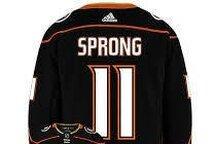 Daniel Sprong Anaheim Ducks #11 Jersey