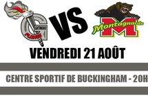 Premier match préparatoire dans la LHJQ pour les Flames de Gatineau