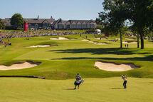 Le parcours Southern Hills, qui a accueilli le Championnat sénior de la PGA, le weekend dernier. (Getty)