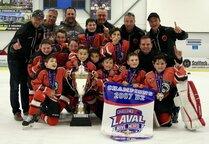 Les Champions 2007 D2 Hockey United