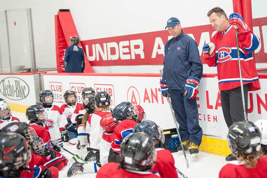 Inscriptions à l'École de hockey des Canadiens été 2020