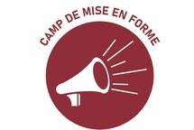 HORAIRE CAMP DE MISE EN FORME 5 SEPTEMBRE 2020
