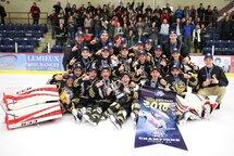 Les Harfangs champions du Midget AA