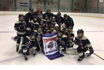 Le bronze aux Chevaliers Novice A au Tournoi JSH