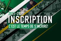 Inscription 2022-2023