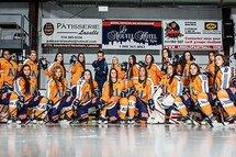 L'équipe de hockey féminin 2015-2016 du Cégep André-Laurendeau