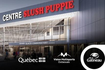 Les trois glaces communautaires du Centre Slush Puppie sont fin prêtes!