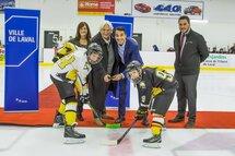 Ville de Laval - L'aréna Hartland-Monahan à nouveau ouvert