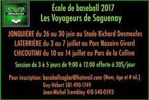 École de baseball des Voyageurs