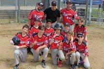 Victoire des Padres Beauport pee-wee b  au tournoi de Baseball Beauport