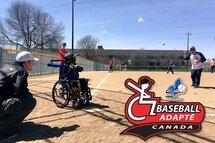 Inscrivez-vous au Jamboree provincial du baseball adapté!