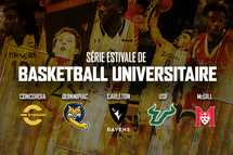 Une série de basketball universitaire prendra place cet été à la Place Bell !