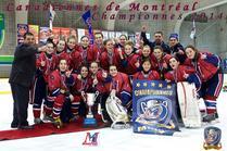 Championnes de la Coupe Montréal 2014 -Midget A