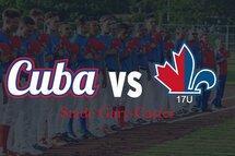 L'équipe nationale cubaine affrontera l'ABC 17U au stade Gary-Carter!