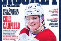 Cole Caufield se confie dans l'édition d'octobre de Hockey Le Magazine !