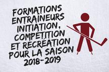 Formations Entraîneurs Initiation, Compétition et Récréation pour la saison 2018-2019