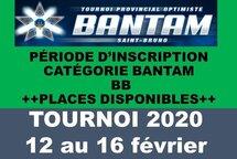 Inscription Bantam BB