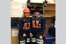 Joannie Filion et Audrey Bisaillon - Crédit photo - Courtoisie de l'équipe
