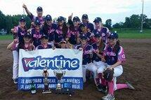 Les Pink Sox remportent le tournoi Bantam B de Boucherville