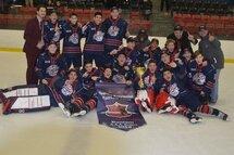 Champions Bantam AAA-Relève: Rousseau Royal de Laval