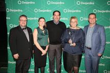 Récipiendaires du prix «Événement par excellence de niveau régional, interrégional ou québécois» (Crédit photo: Sylvain Jaeckel)