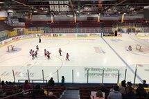 Novice demi-glace : Les matchs préparatoires