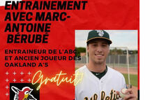 Entraînement avec Marc-André Bérubé