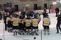 Lafontaine champions Junior AA