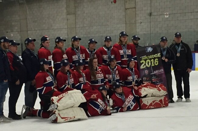 Montreal Canadiennes new Provincial champs
