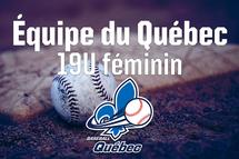 L'équipe du Québec 19U féminin est dévoilée!