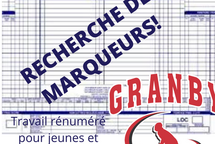 OFFRE D'EMPLOI - MARQUEUR ET CHRONOMÉTREUR