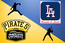 Partenariat entre les Associés de Laval et les Pirates Chevrolet 440 de Laval