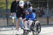 Lancement du baseball adapté