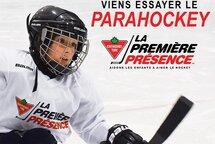 La Première Présence Canadian Tire élargit son offre en intégrant le parahockey