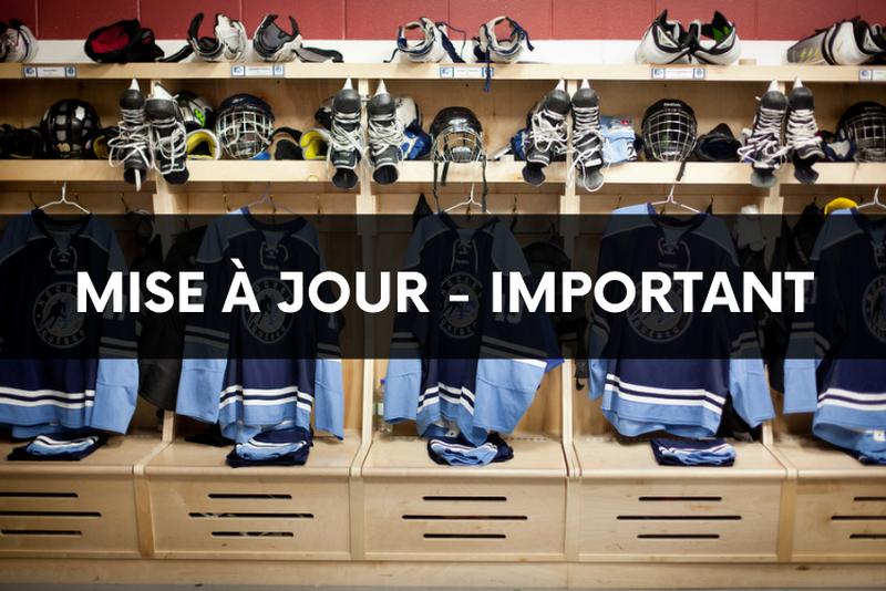Mise à jour suite à l'annonce gouvernementale du 7 juillet - Présence des spectateurs pour les camps Équipe Québec 2021