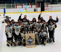 Pee-wee B Jets Champions Chambly