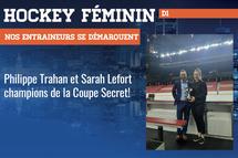 Philippe Trahan et Sarah Lefort - Crédit photo - Courtoisie de Philippe Trahan