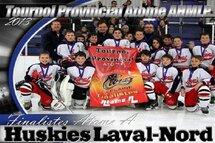 Les Huskies de Laval-Nord Atome A finaliste du Tournoi de Laplaine
