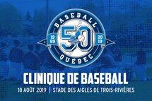 Une clinique gratuite pour les joueurs de baseball le 18 août!