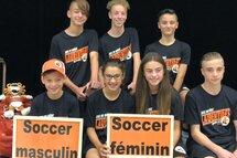 Une grande réalisation pour plusieurs jeunes du FC Challenger!!