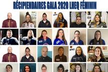 Récipiendaires gala 2020 LHEQ Féminin