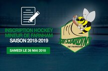 INSCRIPTION HOCKEY MINEUR DE FARNHAM