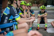 Lex Albrecht, professional road cyclist. Team TIBCO Silicon Valley Bank