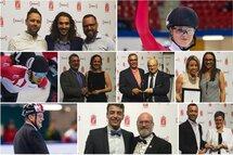Les récipiendaires québécois à la dernière remise des Prix PVC. — Plusieurs photos fournies par PVC