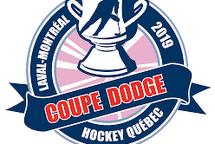 Deux de nos équipes ont atteint les demis finales de la Coupe Dodge :