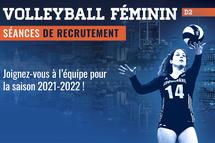 L'équipe de volleyball D2 recrute ! - Crédit photo - Tabasko Impression+Design